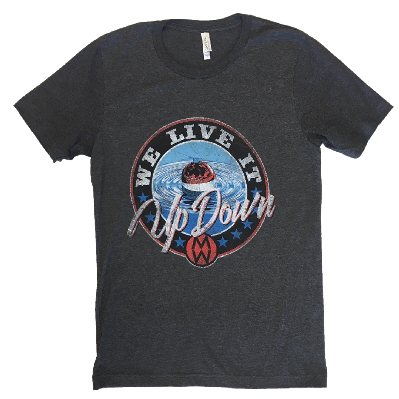 Morgan Wallen Dark Heather Grey Tee