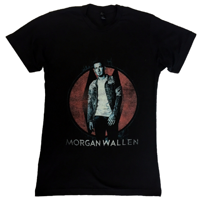 Morgan Wallen Black Photo Tee
