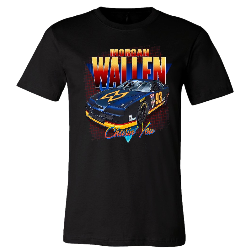 Morgan Wallen Chasin' You Black Tee