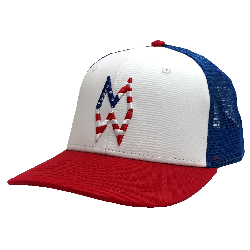 Morgan Wallen Red, White and Blue Ballcap