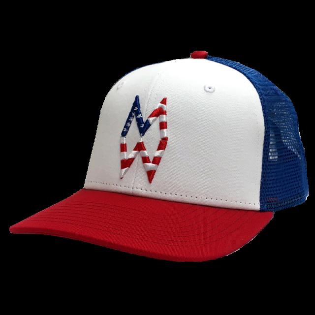 Morgan Wallen Red, White and Blue Ballcap