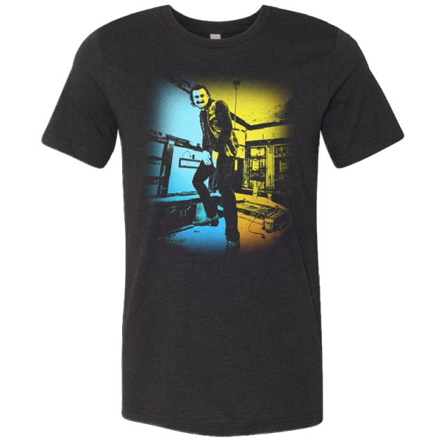 Morgan Wallen Heather Black Tour Tee