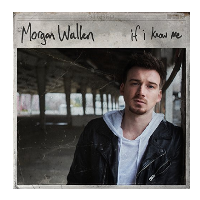 Morgan Wallen CD- If I Know Me