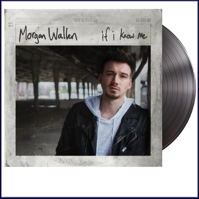 Morgan Wallen Vinyl- If I Know Me